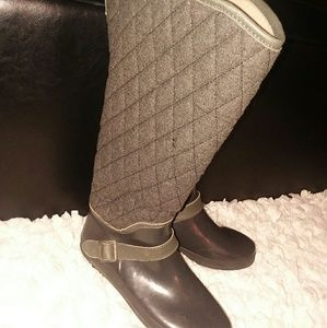 Sperry quilted rainboot